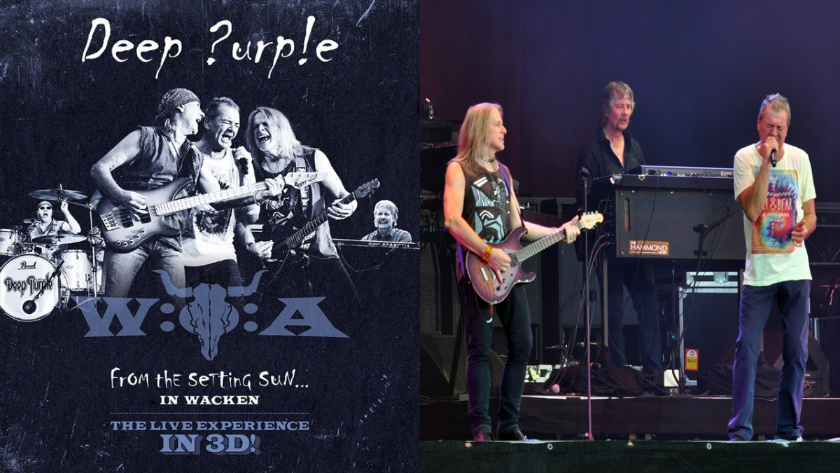 3D specialist Stephan Stahl did the stereoscopic editing in post production for Deep Purple live in 3D