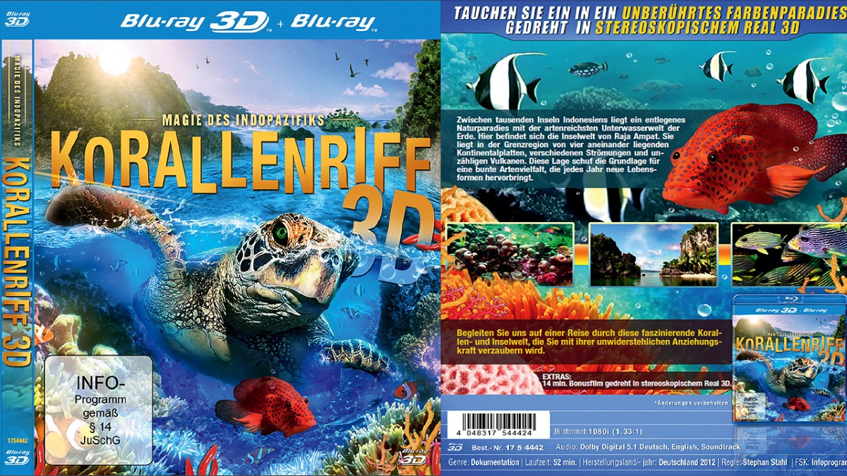 Raja Ampat 3D movie produced by Stephan Stahl