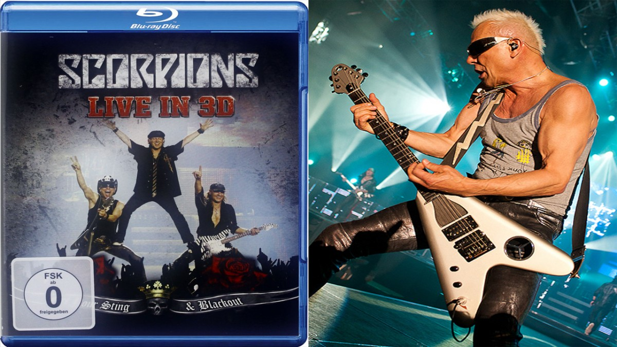 Movie producer Stephan Stahl made the 3D editing and supervision in post for Scorpions live in 3D